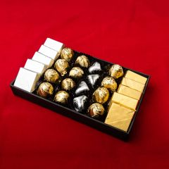 Golden Letters - Mixed wrapped chocolates